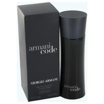 Armani Code by Giorgio Armani Eau De Toilette Spray 6.7 oz - $133.95