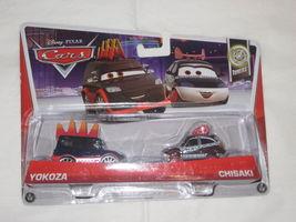 New Disney Pixar Cars 2 YOKOZA & CHISAKI  2 Pack Tuners Diecast 1:55 #7/10 - $13.99