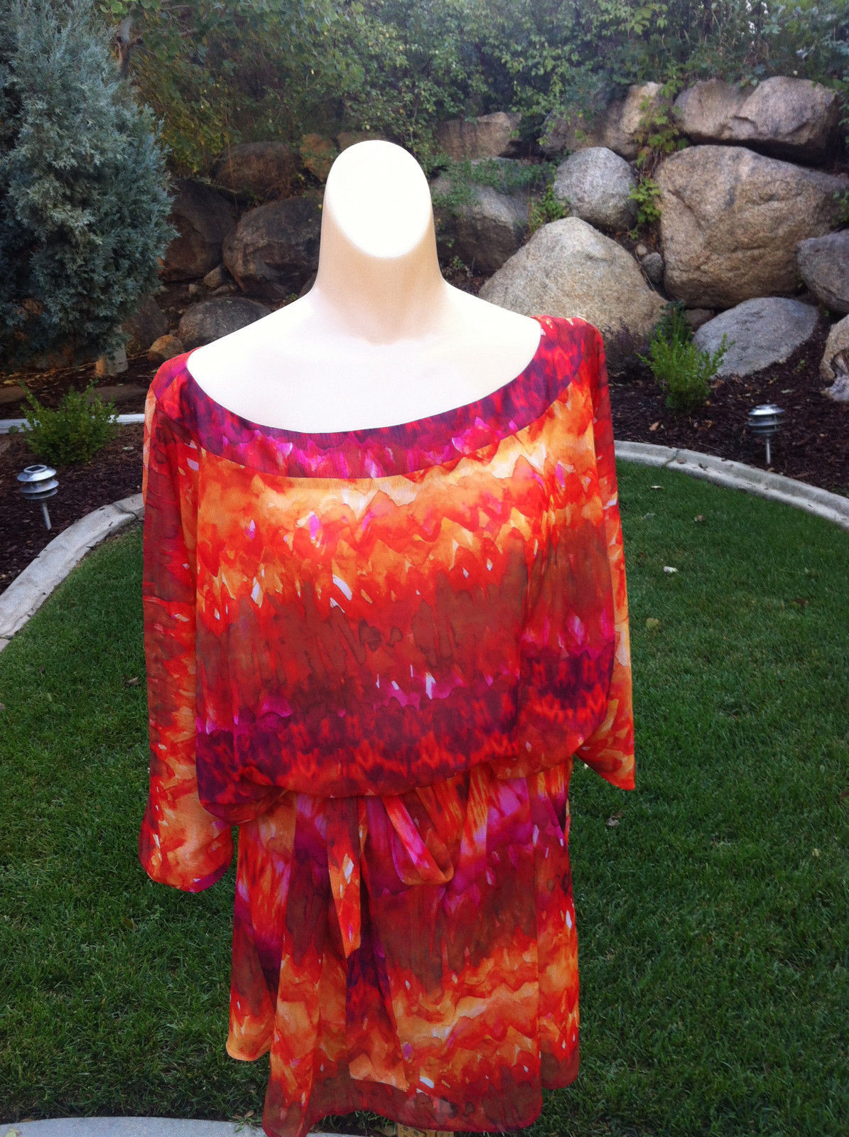 ABS BY ALLEN SWARTZ - swimsuit cover/dress cover up -MSRP $121-BNWT!!!
