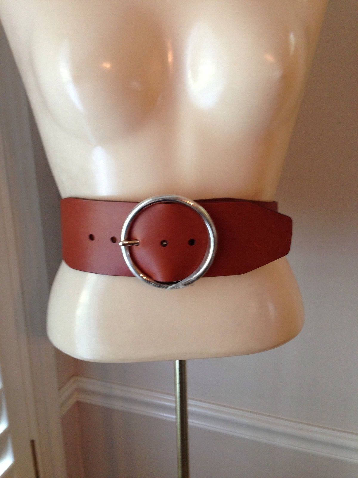 MICHAEL KORS Brown Belt - Size M - NEW WITH TAGS