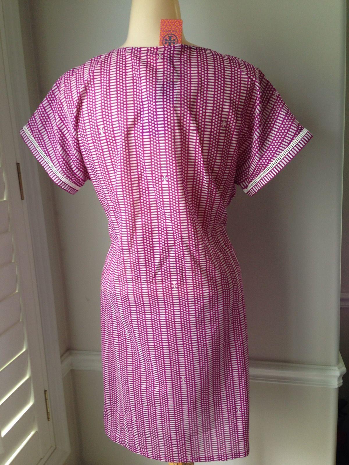 Tory Burch Cap Sleeve Tunic Dress - NWT SIZE SMALL