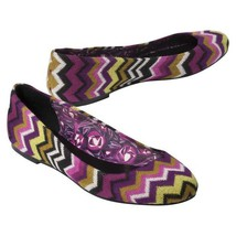 MISSONI FOR TARGET FLATS - PASSIONE BNWT!! SIZE 5 1/2 - $58.41