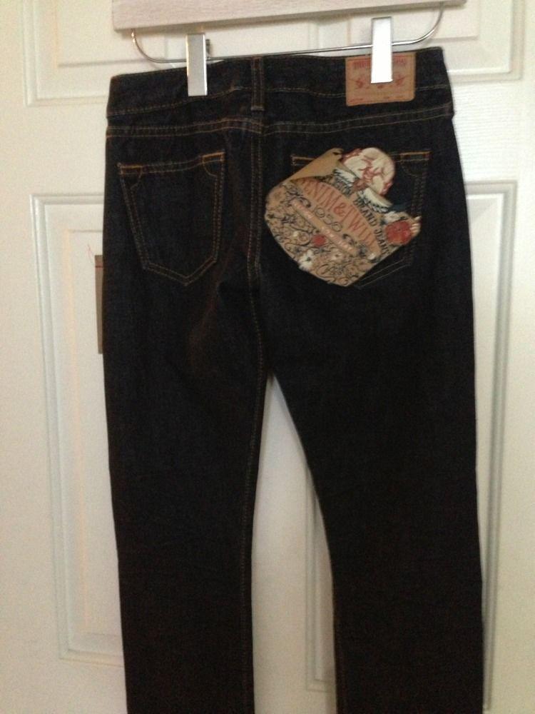 TRUE RELIGION Blue Jeans Christina 1956 - NWT SIZE 24 - MSRP $328