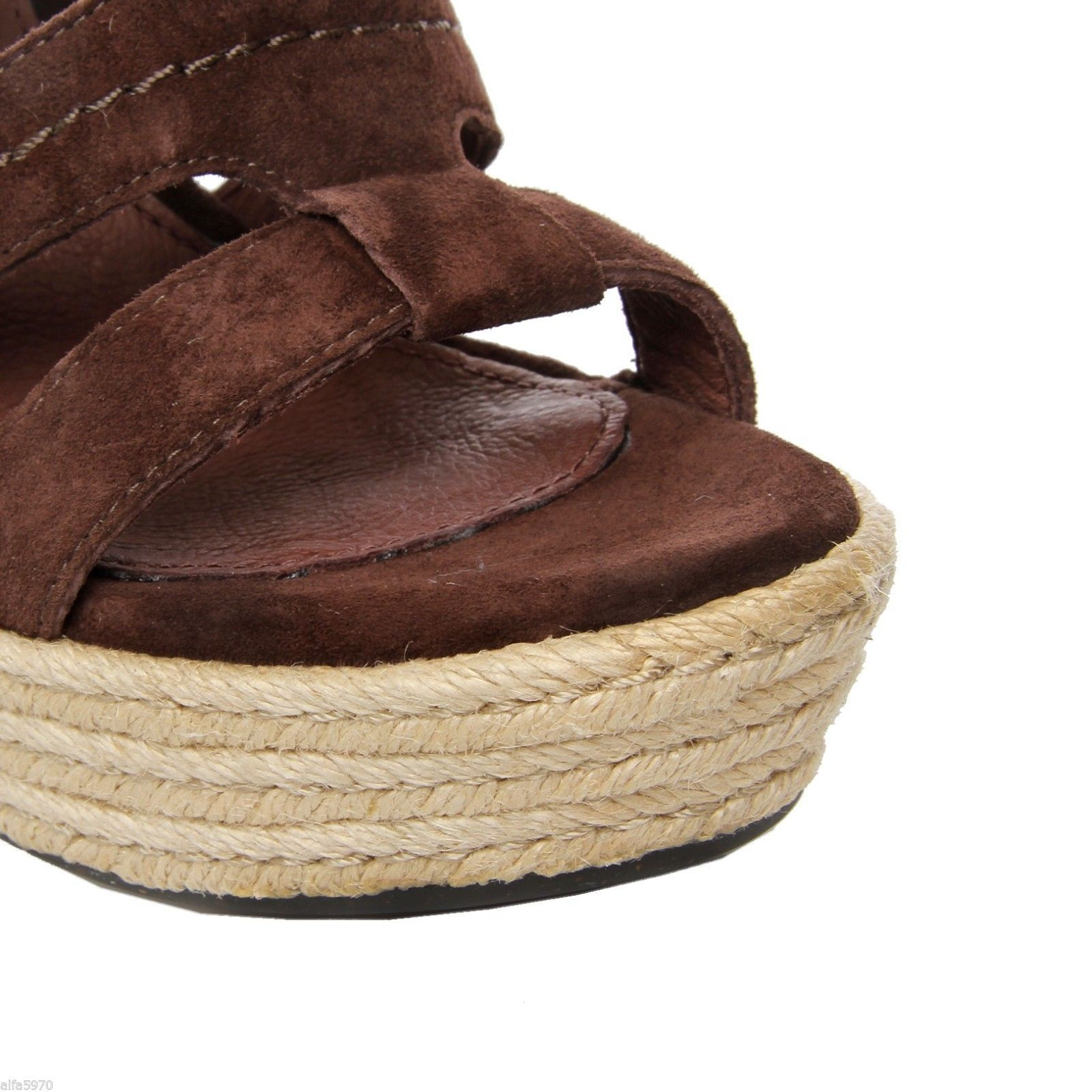 UGG AUSTRALIA TAWNIE SANDALS, WEDGES SHOES- SIZE US 11- NEW