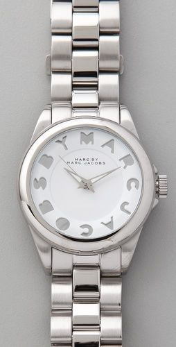 Marc By Marc Jacobs Dreamy Logo Bubble Watch - NWT!