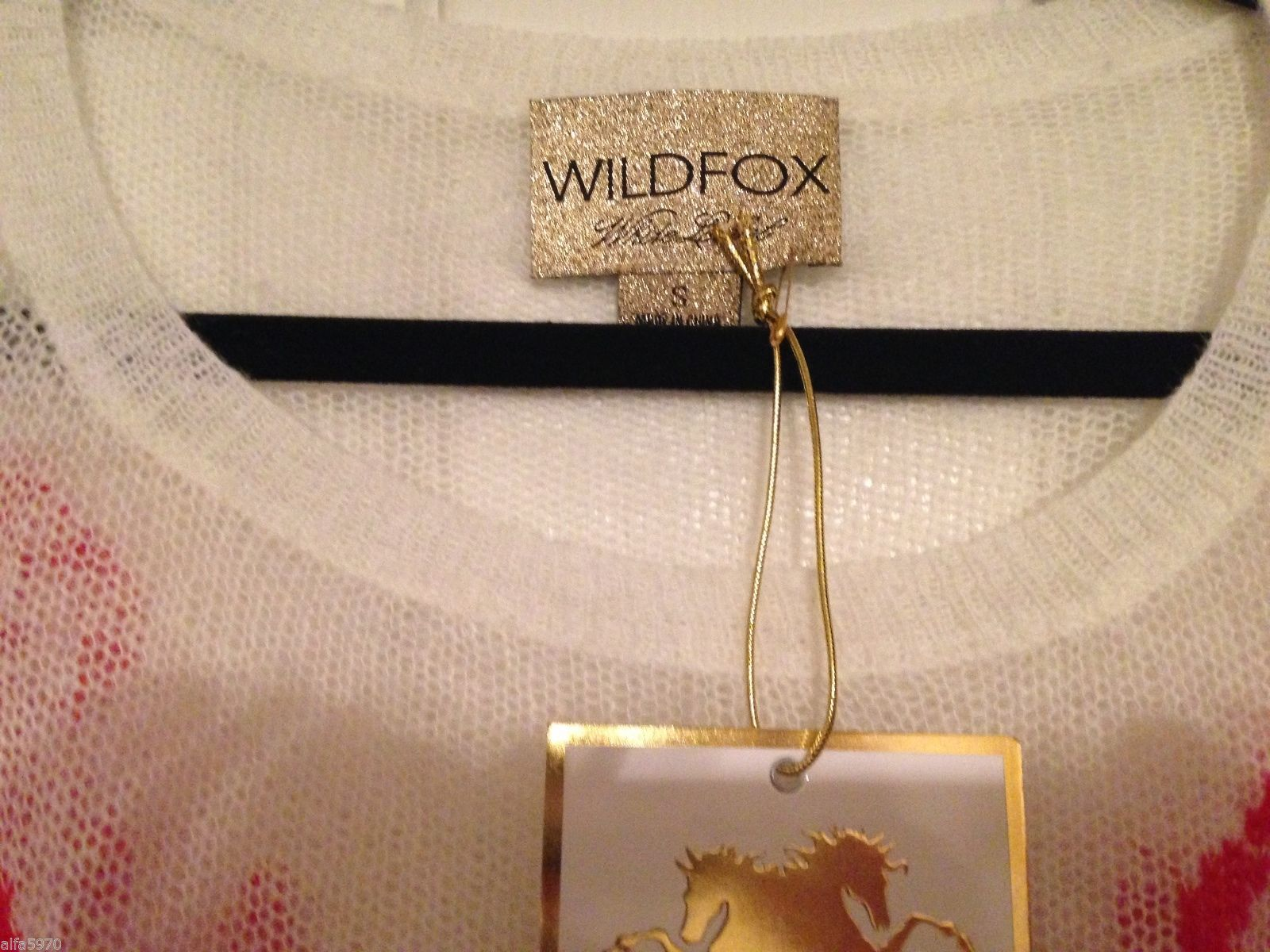 Wildfox Couture Shipwreck Lennon Sweater  - NWT! SIZE S
