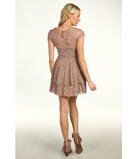 FREE PEOPLE ROCK CANDY LACE DRESS - SIZE US 8, NEW WITH TAGS