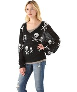 WILDFOX Knight Hood V Neck Sweater - NEW WITH TAGS - MSRP $335 XS - $113.85