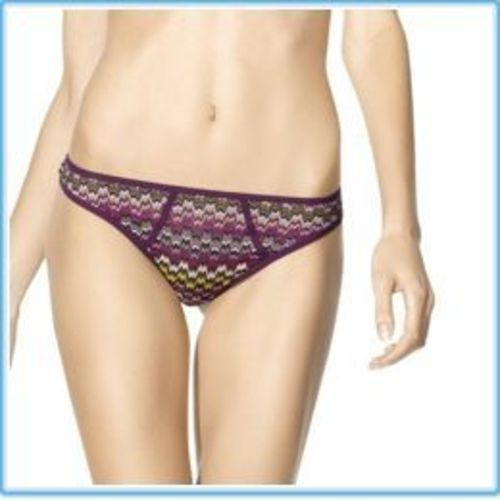 MISSONI FOR TARGET THONG - PASSIONE - SIZE XL NWT!!!
