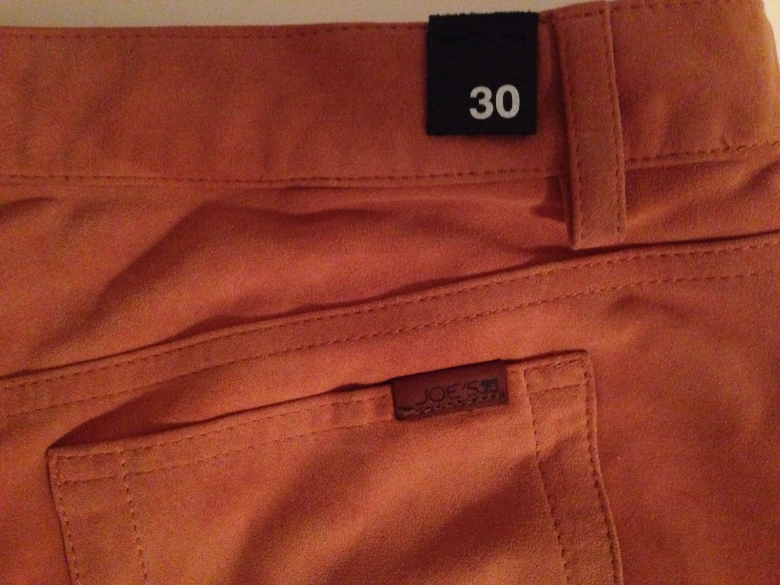JOE'S JEANS SUEDE LEATHER SHORTS - NWT SIZE 30