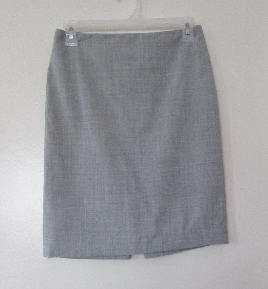 victoria's secret sexy grey gray stretch pencil skirt size 0 xs extra small