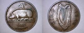 1946 Irish 1/2 Half Penny World Coin - Ireland - $19.99