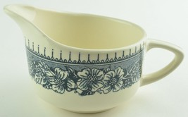 Royal China Colonial Heritage Blue Pattern Creamer USA Stoneware Tableware - $14.99