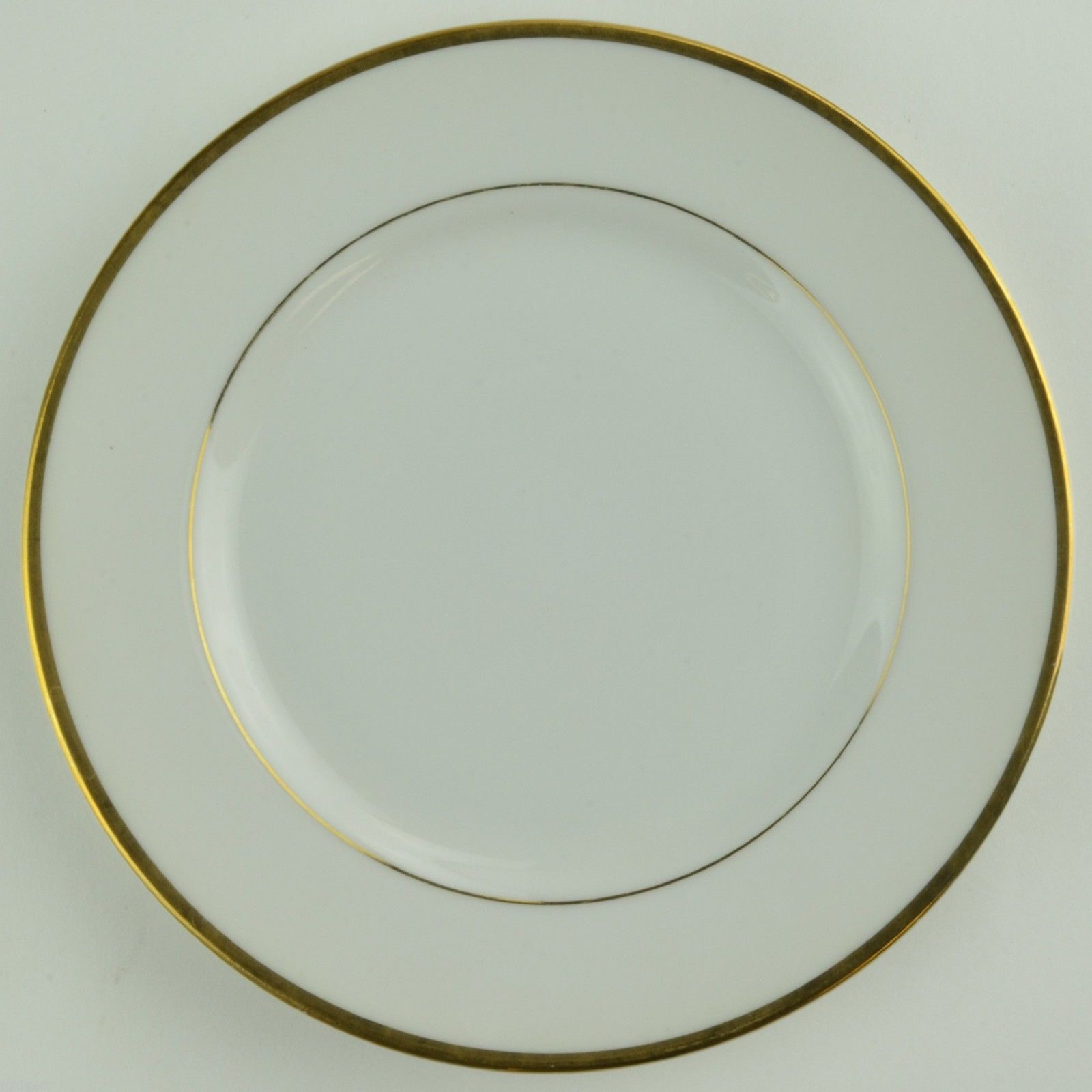 Fine China Of Japan Sonnet Bread Plate Gold Band Trim Tableware Dinnerware