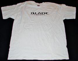 NEW 2004 BLADE TRINITY Movie Promo LARGE T-SHIRT Adult White - $8.09