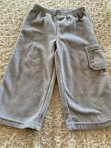 Child Of Mine Boys Light Gray Fleece Pants 18 Months - $4.50