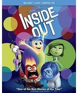 Disney Pixar Inside Out (Blu-ray + DVD + Digital) New - $17.95