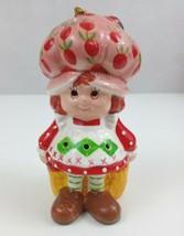 "Vtg 1980's Strawberry Shortcake Ceramic Potporri Ornament Shaker 4.5""  F... - $7.69"