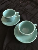 Pair Of Tarquois Fiesta Cup And Saucer - $15.90