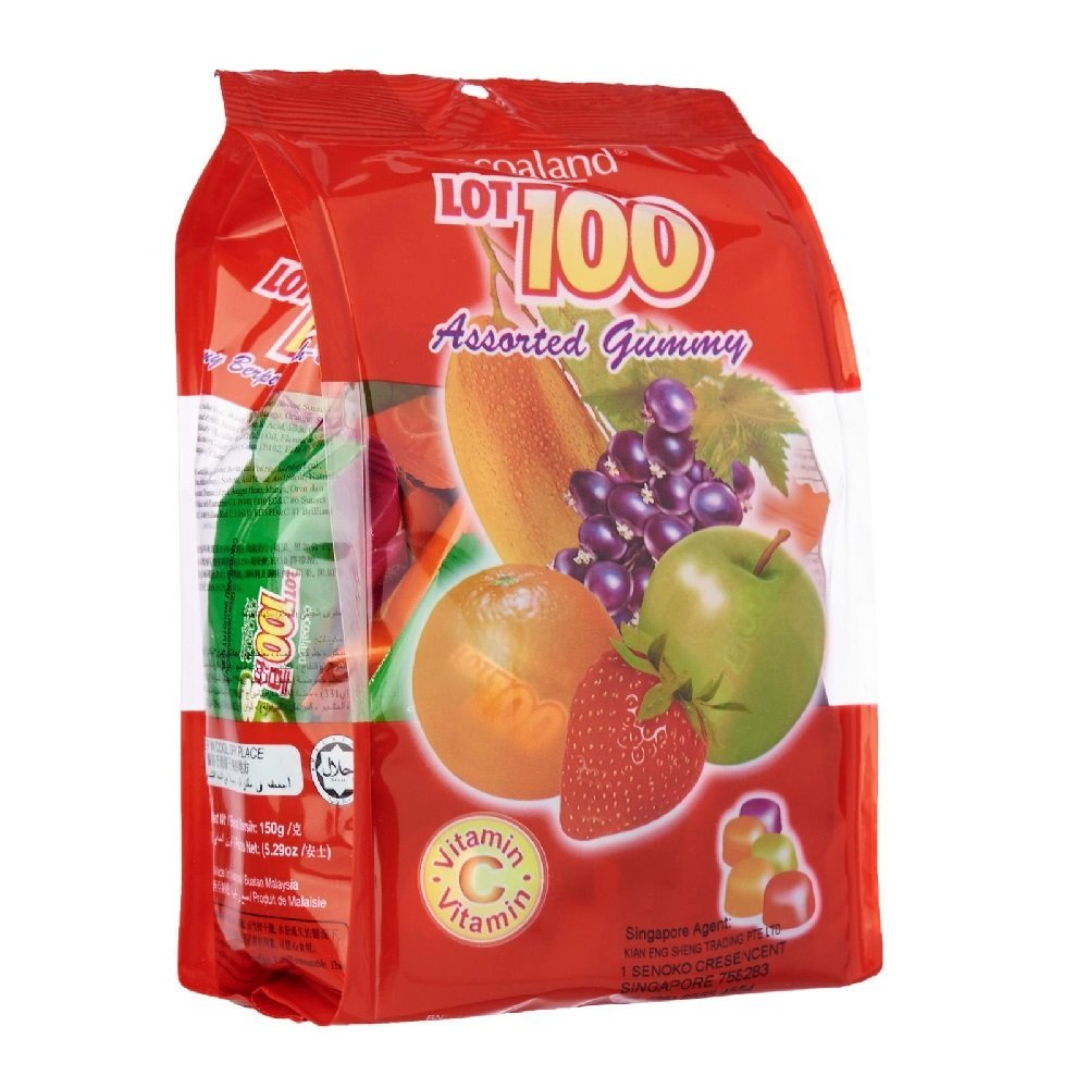 Cocoaland Lot 100 Assorted Flavour Gummy Candy Sweets Great Snack Halal 1kg - $53.70