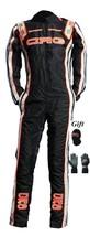 CRG2015 BLACK EDITION GO KART RACE SUIT CIK/FIA LEVEL 2 APPROVED WITH FR... - $160.99