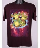 TMNT Teenage Mutant Ninja Turtles T Shirt-Black-M-Nickelodeon-Outer Space - $18.69