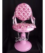 "Beauty Salon shop Chair Battat fits 18"" American Girl doll our generatio... - $32.29"