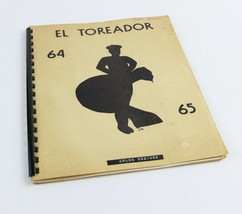 Vintage 1964-65 El Toreador Sequin's Texas TX Junior High School Yearbook - $18.30