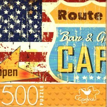 Route 66 Diner - 500 Piece Jigsaw Puzzle for Age 14+ - $14.84