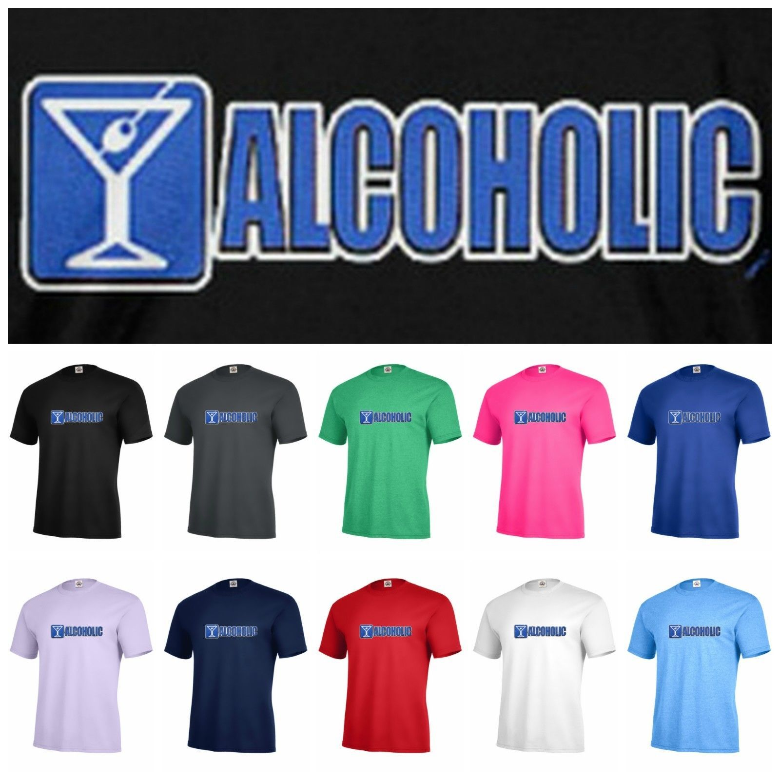 92c25b4e ALCOHOLIC sighn party humor T-shirt Adult and similar items. S l1600