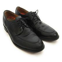 Cole Haan Grand.Os Men's 9.5 M Henry Black Leather Split-Toe Lace-up Derby Shoes - $19.79