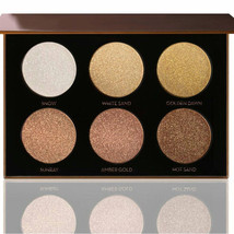 6 COLORS Ultimate Glow kit Face Powder Blusher Makeup PALETTE Bronze Hig... - $17.10