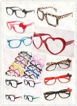 Cute Fashion Retro Nerd Style Glass Frame Cosplay Costume Lovely Vintage... - $3.95+