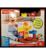 Fisher-Price Lil' Zoomers Fun Sounds Construction set - New - $60.00