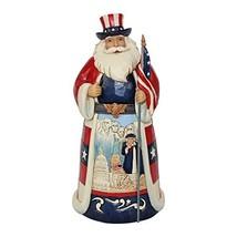 Enesco Jim Shore Heartwood Creek German Santa Stone Resin Figurine, 6.75... - $39.99