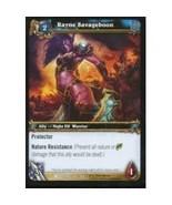 World Of Warcraft RAYNE SAVAGEBOON Drums Of War 140 - $0.19