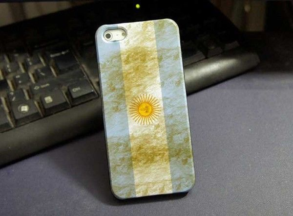 Argentina South America Sun National Flag Hard Case Cover For Apple iPhone 5S 5