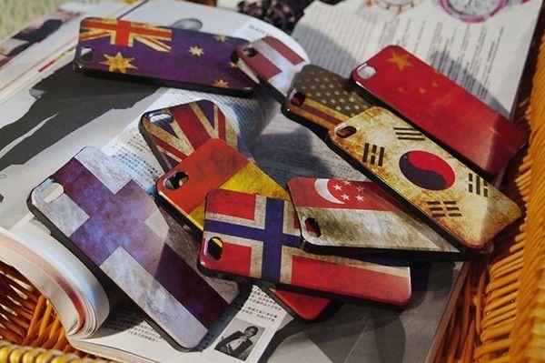 Brazil Brasil Samba Latin National Flag Hard Case Cover For Apple iPhone 5S 5 4G