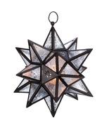 Moroccan Hanging Star Lantern - $40.00