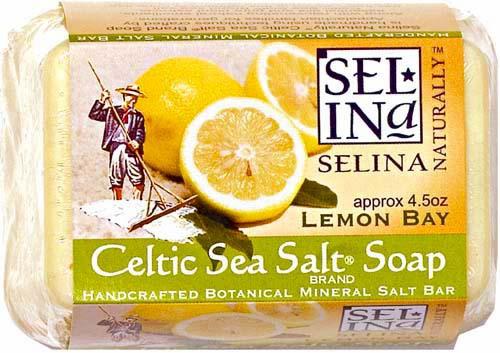 CELTIC SEA SALT SOAP LEMON BAY 6 / 4.5 OZ BARS
