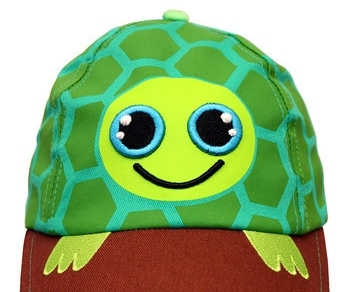 Kid Friendly Boys Turtle Baseball Cap Safari SunHat MSRP $30.00 SAVE $10