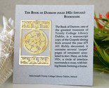 Book of durrow bookmark carpet page trinity college ireland thumb155 crop