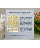 Book of Durrow Bookmark Carpet Page Trinity Col... - $12.95