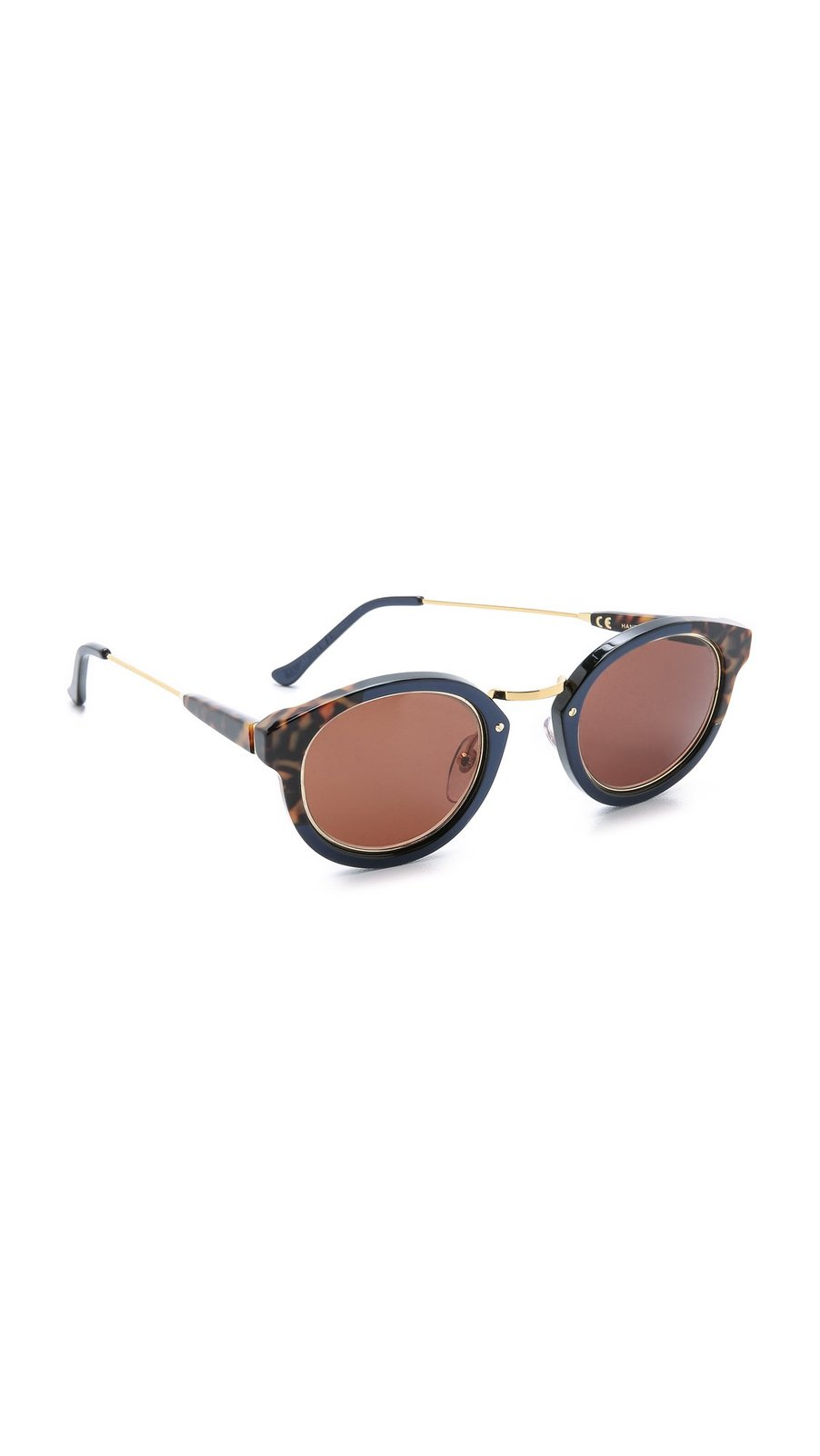 Super Sunglasses Women's Panama Costiera Sunglasses, Havana/Brown, One Size