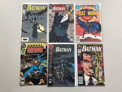Lot of 12 Batman (1940) from #380-433 Annuals 8-14 VF-NM Near Mint