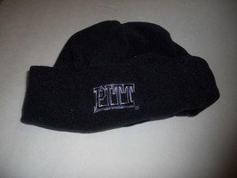 Ncaa Pittsburgh Pitt Panthers Warm Blue Fleece Cuffed Cap Ncaa - $13.76