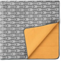 """Splat Mat For Under High Chair - 52"""" Large Floor Mat Protects Floors And... - $26.72"""
