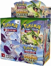XY Roaring Skies 9 Booster Pack Lot 1/4 Booster Box POKEMON Trading Cards - $29.99