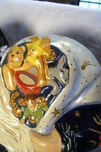 Vaillancourt Folk Art, Blue Father Christmas Lg Window Display signed by Judi image 5