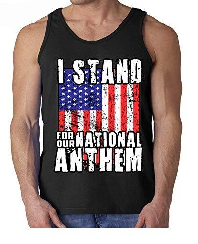 Primary image for Adult I Stand for The National Anthem Tank Top Small Black